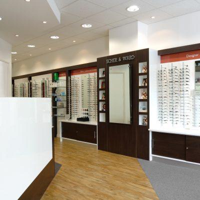 Optical interiors Shopfitting