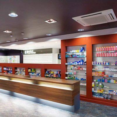 pharmacy shopfitting